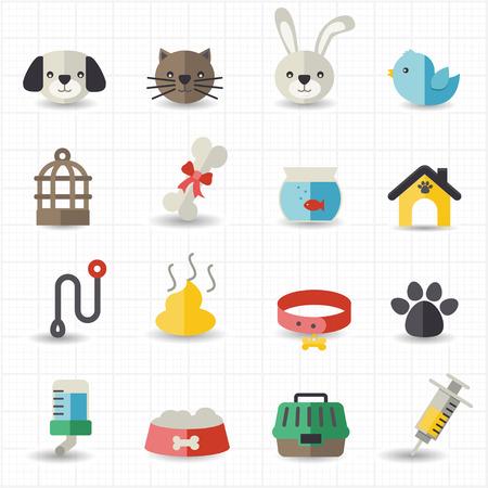 Pet icônes Illustration