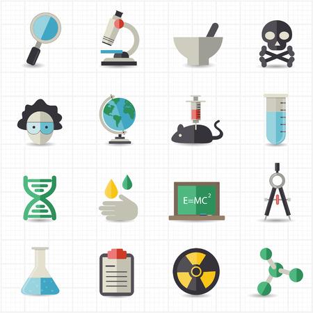 virus informatico: Ciencia y educación iconos