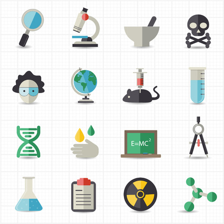 dna helix: Science and education icons