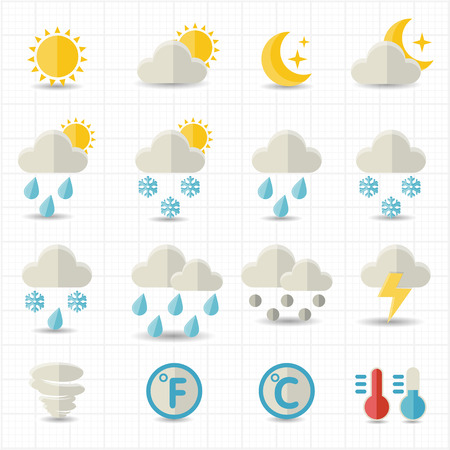 cold weather: Weather icons