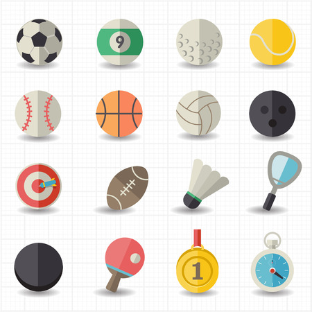 sport balls: Sport icons