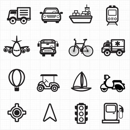 oil transportation: Transport icons