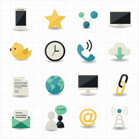 Web internet icons