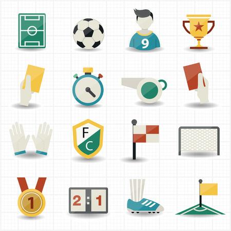 corner kick: Soccer Icons