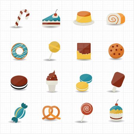 sweetmeat: Sweet Food and Sweetmeat Icons
