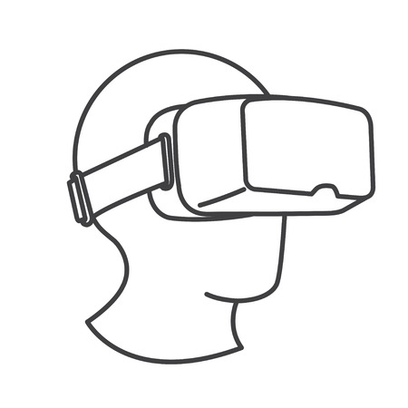 VR Glasses Virtual Reality Headset
