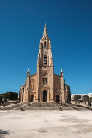 Madonna ta Loreto Parish church Ghajnsielem, Gozo Malta