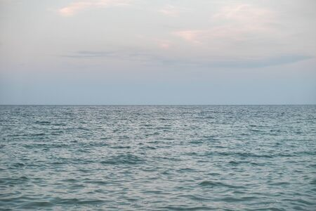 sea horizon in the afternoon Imagens