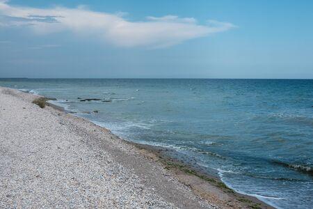 seashore at vama veche romania