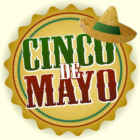 de': Cinco de Mayo Badge