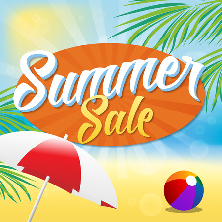 holiday background: Summer Sale
