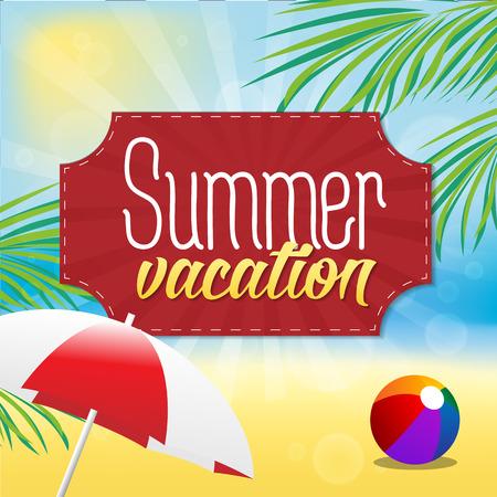 summer holiday: Summer Vacation