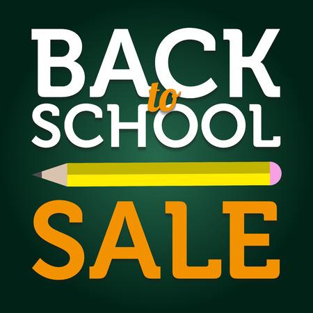 Back to School Sale Illustration