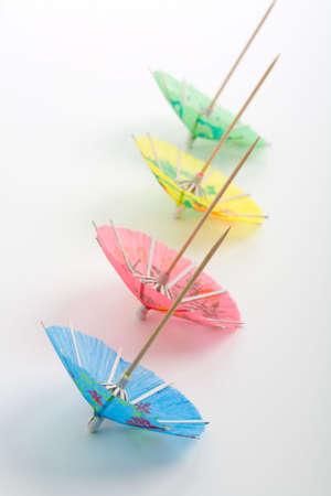 Assortment of drink Umbrellas