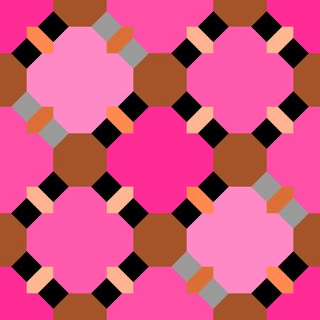 seamless: Abstract seamless geometric patterns. Kaleidoscope seamless