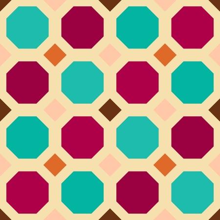 kaleidoscope: Abstract seamless geometric patterns. Kaleidoscope seamless