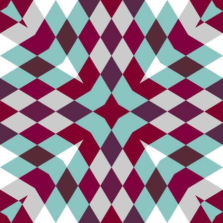 Abstract seamless geometric patterns. Kaleidoscope seamless. Geometric pattern background