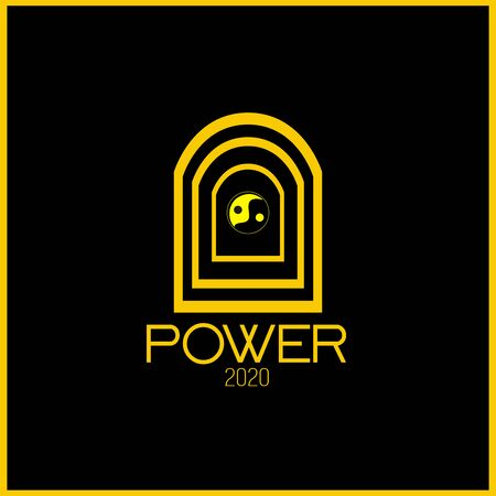 Power balance and yellow color and nested window view