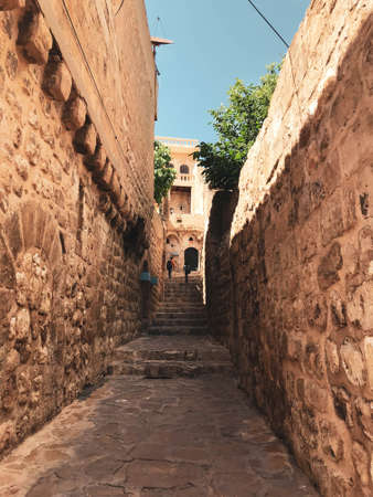 An old street in the province of Mardin