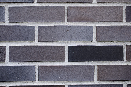 exterior architectural details: new urban brick wall Stock Photo