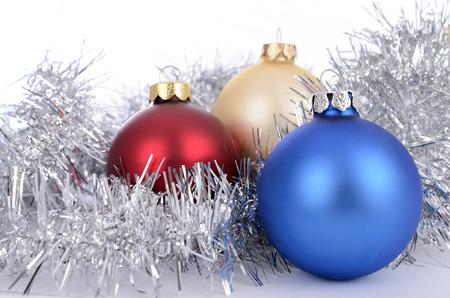 Christmas toys on the Christmas tree