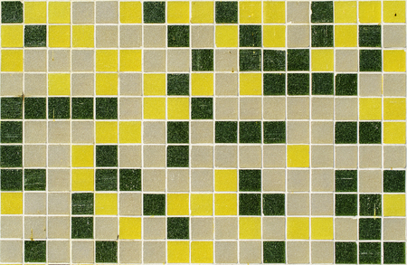mosaic tiles of different colors