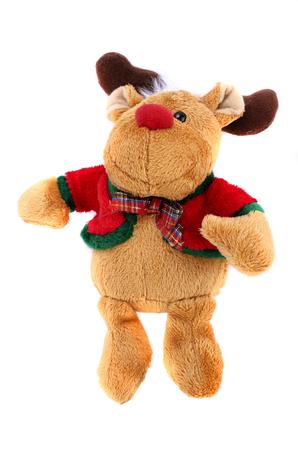 Christmas reindeer on white background Stock Photo