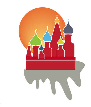 Saint Basil Cathedral of Moscow  Stock Vector - 4750268