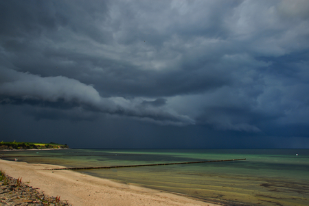 Thunderstorm over the Baltic Sea