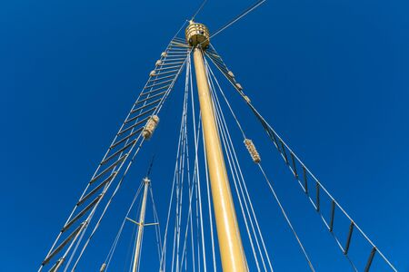 from a sailing ship you can watch the beautiful blue sea in Australia Reklamní fotografie