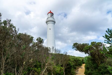 Split Point Lighthouse is a lighthouse close to Aireys Inlet, a small town on the Great Ocean Road in Victoria, Australia. The Great Ocean Walk leads to the lighthouse.