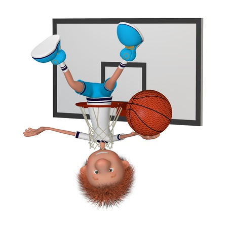 the basketball  player on training  training beginning  photo