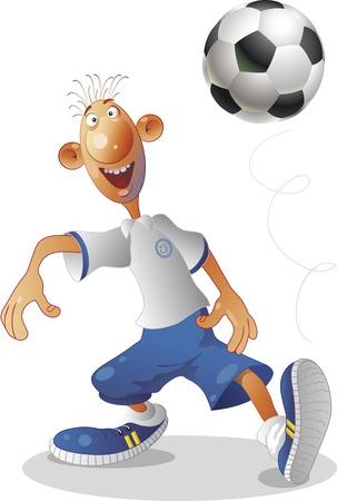 The international tournament on football Stock Vector - 17995614