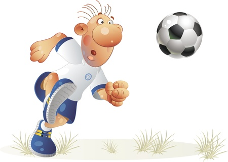 The international tournament on football  Vector