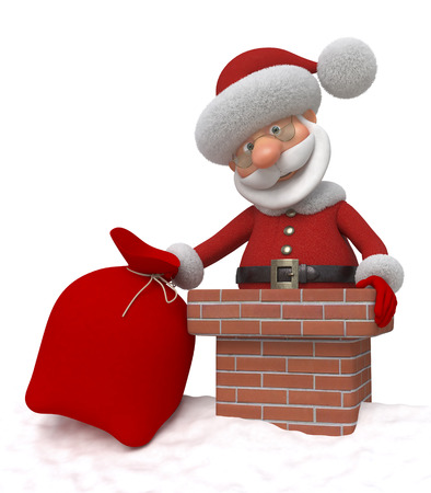 flue season: New Years coming of the fantastic grandfather through a flue