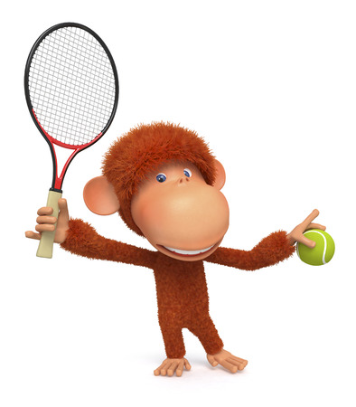 primacy in the tennis  Фото со стока