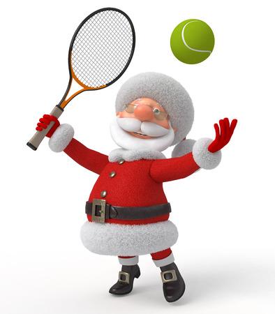 raqueta de tenis: Deportes de entretenimiento de A�o Nuevo de la fant�stica abuelo