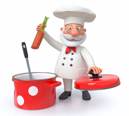 Cooking is trusted only the professional