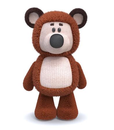 ourson: la bonne humeur pelucheux ourson coûte directement
