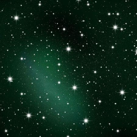 noche y luna: Espacio. La congesti�n de las estrellas