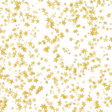 star shapes: Gold background from bright stars