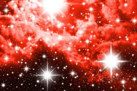 stellate: The big starry congestion on night the sky