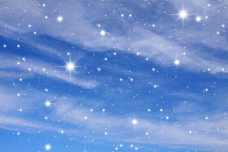 lightyear: Night sky. A congestion of stars. Astronomy background galaxy