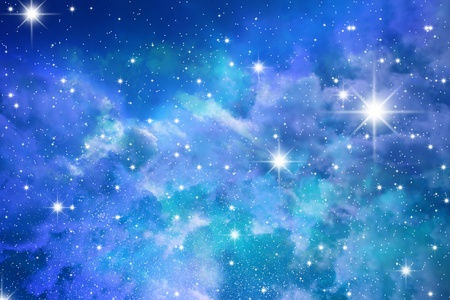 starry night: The big starry congestion on night the sky Stock Photo