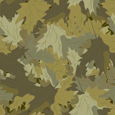 camouflage pattern: Maple camouflage background
