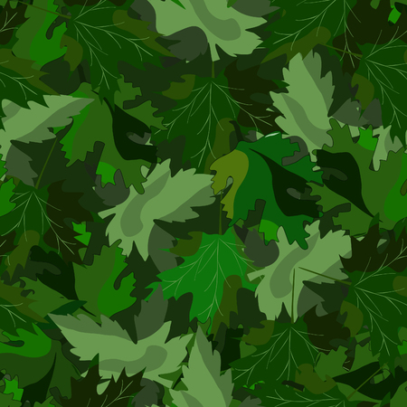 Military background, camo pattern, khaki seamless vector