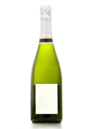 Schaumweinflasche Standard-Bild - 24729836