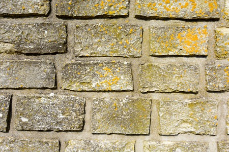 Texture of old brick wall. Vintage brick wall background. Stock Photo