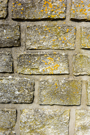 aging: Texture of old brick wall. Vintage brick wall background. Stock Photo