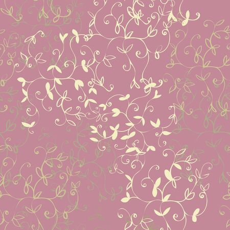 Soft Rose Floral Repeat Print Pattern in Vector. Spring and Summer Collection.